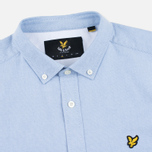 Мужская рубашка Lyle & Scott SS Plain Oxford Riviera фото- 1