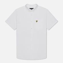 Мужская рубашка Lyle & Scott Short Sleeve Oxford White фото- 0