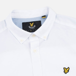 Мужская рубашка Lyle & Scott SS Plain Oxford White фото- 1