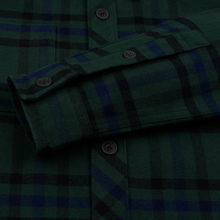 Мужская рубашка Lyle & Scott Tartan Overshirt Jade Green фото- 3