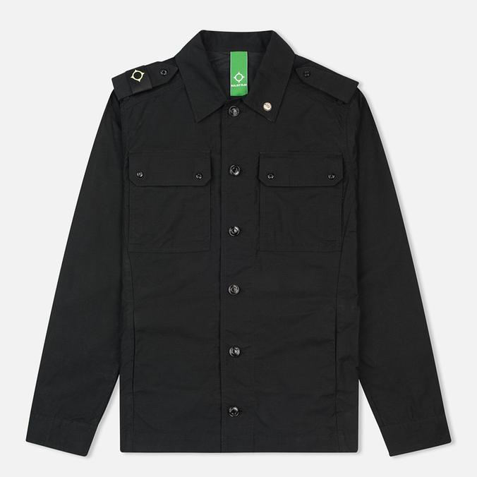 MA.Strum Over Jet Men's Shirt Black
