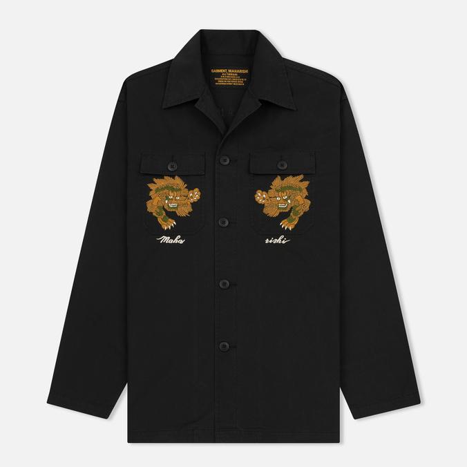 Мужская рубашка maharishi Tour D'Afrique Black