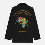 Мужская рубашка maharishi Tour D'Afrique Black фото- 5