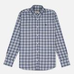 Мужская рубашка Maison Kitsune Check Classic Pearl Grey фото- 0