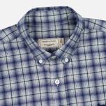 Мужская рубашка Maison Kitsune Check Classic Pearl Grey фото- 1
