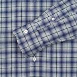 Мужская рубашка Maison Kitsune Check Classic Pearl Grey фото- 3