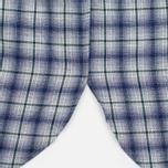 Мужская рубашка Maison Kitsune Check Classic Pearl Grey фото- 4