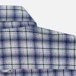 Мужская рубашка Maison Kitsune Check Classic Pearl Grey фото- 5