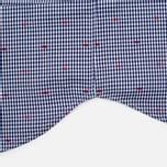 Мужская рубашка Maison Kitsune Jacquard Dots Dark Navy фото- 4