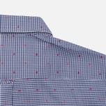 Мужская рубашка Maison Kitsune Jacquard Dots Dark Navy фото- 5