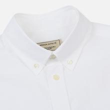 Мужская рубашка Maison Kitsune Oxford Fox Head Embroidery Classic White фото- 1