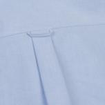 Мужская рубашка Maison Kitsune Oxford Tricolor Fox Patch Classic Light Blue фото- 4