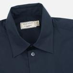 Мужская рубашка Maison Kitsune Poplin Jagg Dark Navy фото- 1