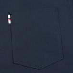 Мужская рубашка Maison Kitsune Poplin Jagg Dark Navy фото- 2