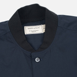 Мужская рубашка Maison Kitsune Poplin Rib James Dark Navy фото- 1