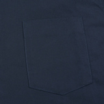 Мужская рубашка Maison Kitsune Poplin Rib James Dark Navy фото- 2