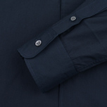 Мужская рубашка Maison Kitsune Poplin Rib James Dark Navy фото- 3