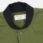 Мужская рубашка Maison Kitsune Poplin Rib James Khaki фото- 1