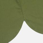 Мужская рубашка Maison Kitsune Poplin Rib James Khaki фото- 4