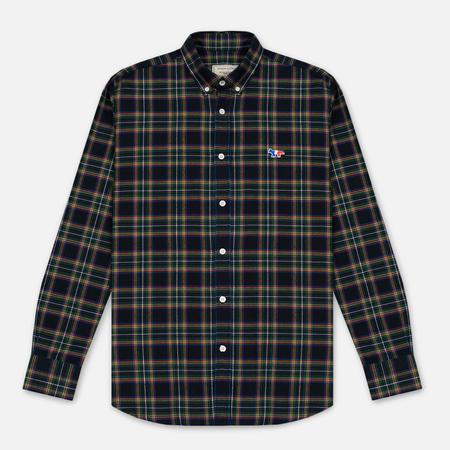 Мужская рубашка Maison Kitsune Tartan Check Classic Emerald