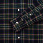 Мужская рубашка Maison Kitsune Tartan Check Classic Emerald фото- 2