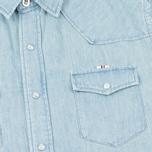 Мужская рубашка Maison Kitsune Western Used фото- 2