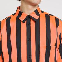 Мужская рубашка Marcelo Burlon Warning Orange/Multicolor фото- 3