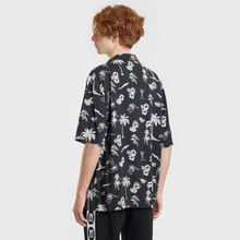 Мужская рубашка McQ Alexander McQueen Billy 03 Hawaii Print Darkest Black фото- 3