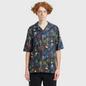 Мужская рубашка McQ Alexander McQueen Billy 03 Surfer Zombie Darkest Black фото - 1