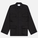 MKI Miyuki-Zoku Badge Fatigue Men's Windbreaker Black photo- 0