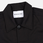 MKI Miyuki-Zoku Badge Fatigue Men's Windbreaker Black photo- 1