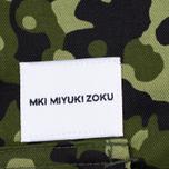 Мужская куртка ветровка MKI Miyuki-Zoku Badge Fatigue Mono Camo фото- 3