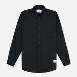 Мужская рубашка MKI Miyuki-Zoku Coded Oxford Black фото- 0