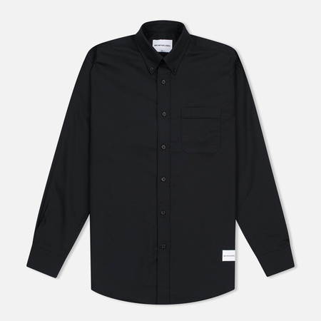 MKI Miyuki-Zoku Coded Men's Shirt Oxford Black