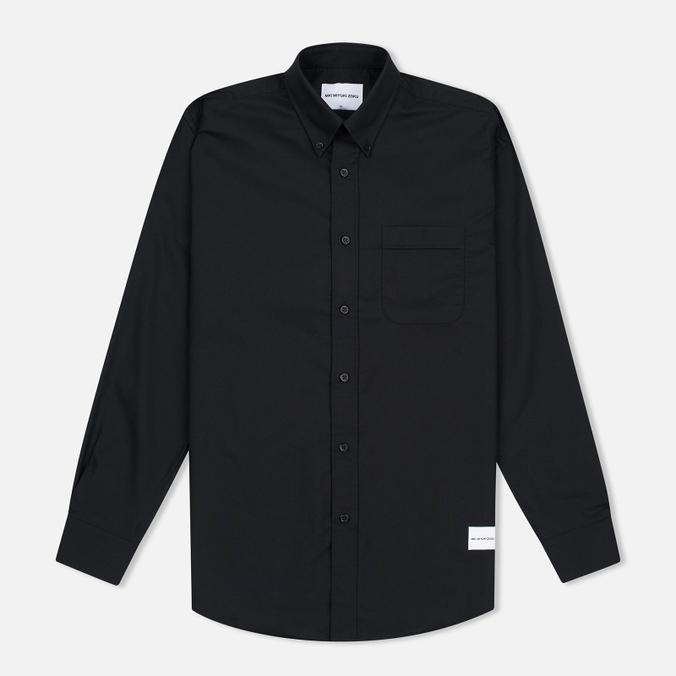 Мужская рубашка MKI Miyuki-Zoku Coded Oxford Black