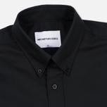 Мужская рубашка MKI Miyuki-Zoku Coded Oxford Black фото- 1