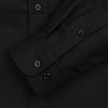 Мужская рубашка MKI Miyuki-Zoku Coded Oxford Black фото- 2
