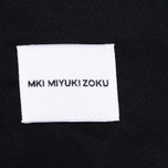 Мужская рубашка MKI Miyuki-Zoku Coded Oxford Black фото- 5