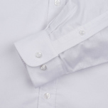 Мужская рубашка MKI Miyuki-Zoku Coded Oxford White фото- 2