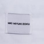Мужская рубашка MKI Miyuki-Zoku Coded Oxford White фото- 5
