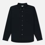 Мужская рубашка Nanamica Alphadry Navy фото- 0