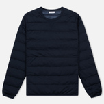 Мужская толстовка Nanamica Button Down Pull Over Navy фото- 0