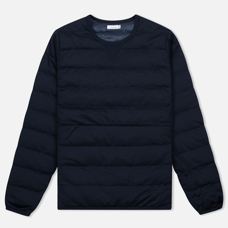 Мужская толстовка Nanamica Button Down Pull Over Navy