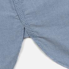 Мужская рубашка Nanamica Button Down Wind Nylon/Cotton Blue фото- 5