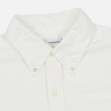 Мужская рубашка Nanamica Button Down Wind Nylon/Cotton White фото- 1