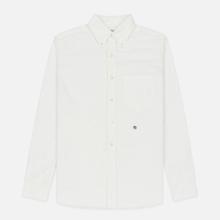 Мужская рубашка Nanamica Button Down Wind Nylon/Cotton White фото- 0