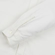 Мужская рубашка Nanamica Button Down Wind Nylon/Cotton White фото- 4