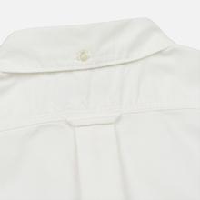 Мужская рубашка Nanamica Button Down Wind Nylon/Cotton White фото- 6