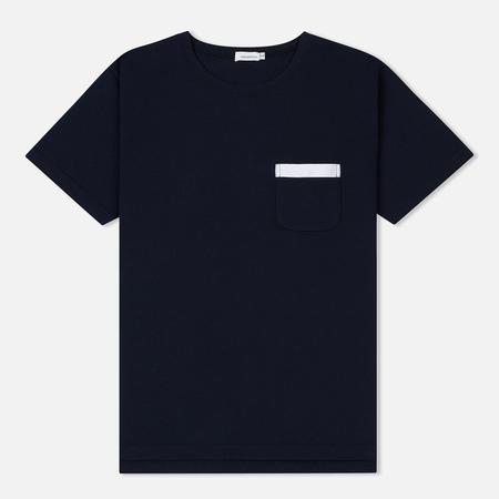 Мужская футболка Nanamica Crew Neck H/S Navy