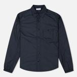 Мужская рубашка Nanamica Insulation Wind Navy фото- 0